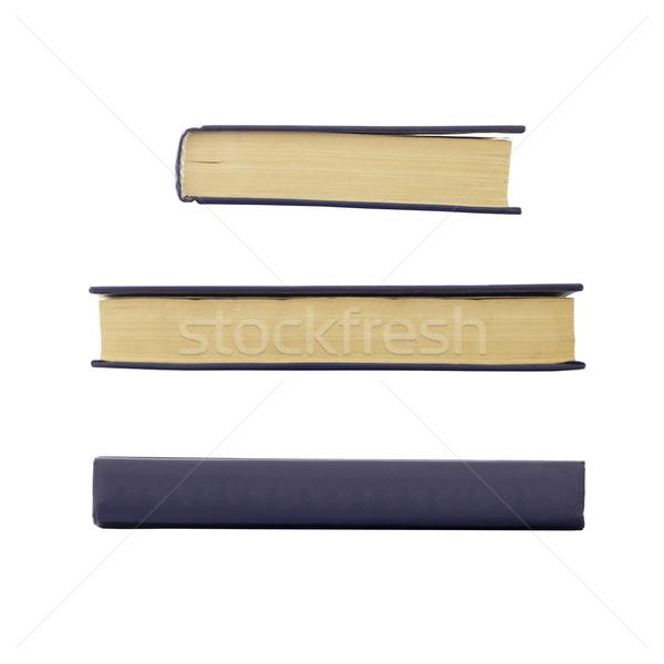 Starej książki nie odizolowany biały papieru Zdjęcia stock © cherezoff