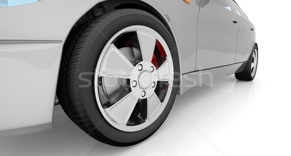 White car  Stock photo © cherezoff