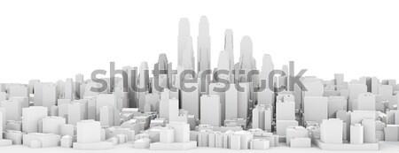 White city downtown Stock photo © cherezoff