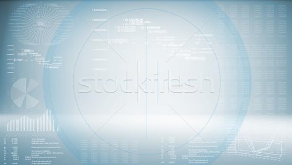 High-tech blue background Stock photo © cherezoff