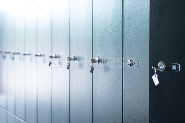 Metal sayılar tuşları görmek çelik Stok fotoğraf © cherezoff