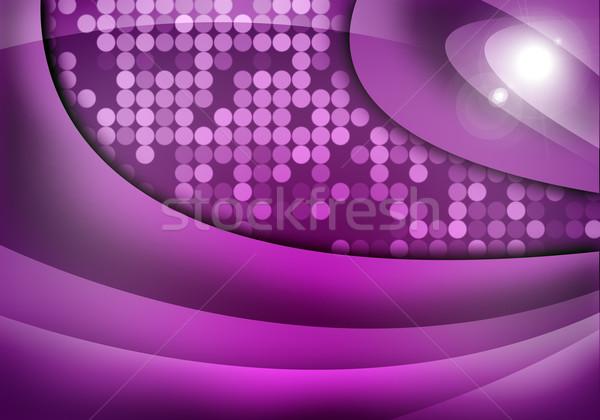 Abstract purple background Stock photo © cherezoff