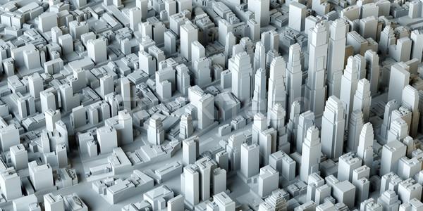 White City Buildings Stock photo © cherezoff