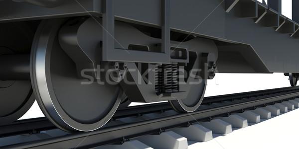 Wheel Of Train Stock photo © cherezoff
