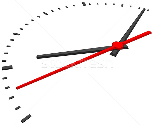 Stock photo: Clock face