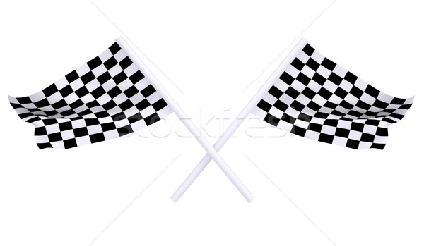 Two sports flag Stock photo © cherezoff