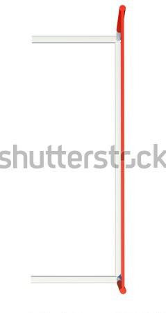 Treadmill barrier on white background Stock photo © cherezoff