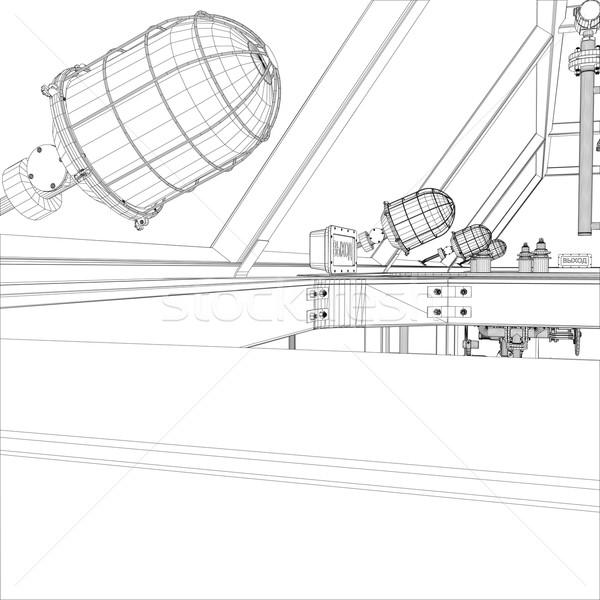 産業 ベクトル eps 10 ストックフォト © cherezoff
