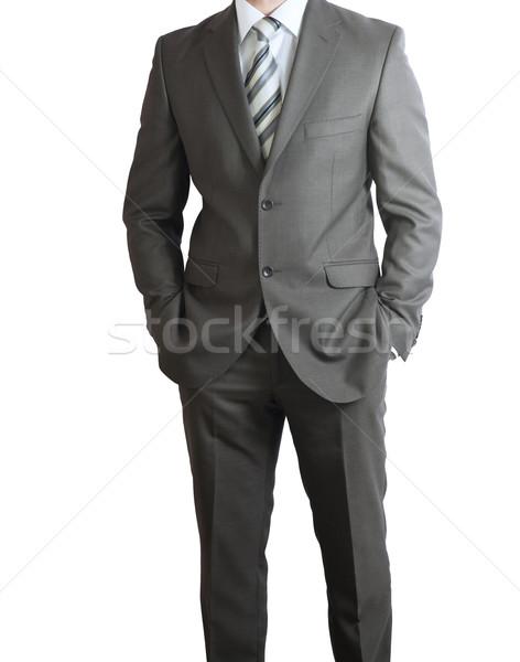 Man in suit Stock photo © cherezoff