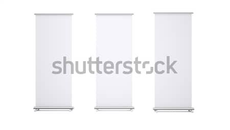 Stock fotó: Zsemle · felfelé · bannerek · papír · vászon · textúra
