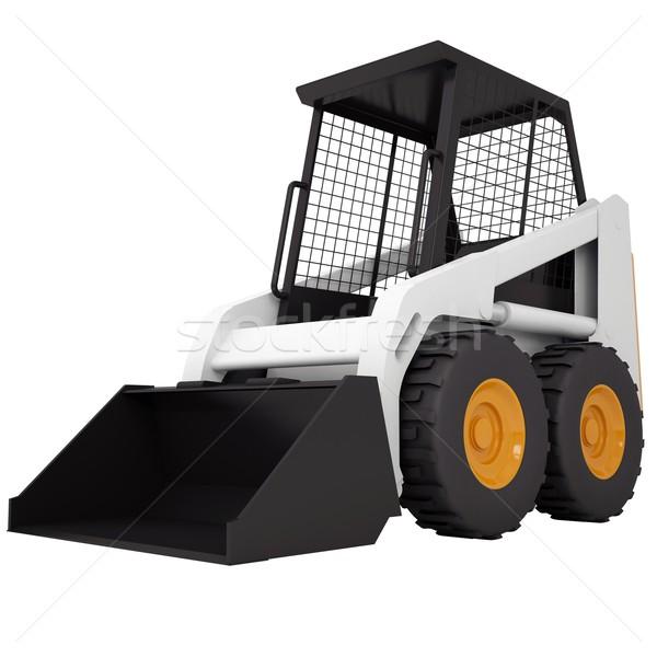 Small tractor Stock photo © cherezoff