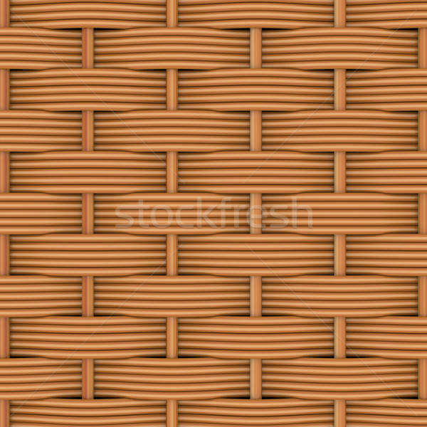 Woven rattan with natural patterns Stock photo © cherezoff