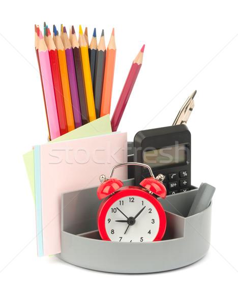 Будильник карандашом