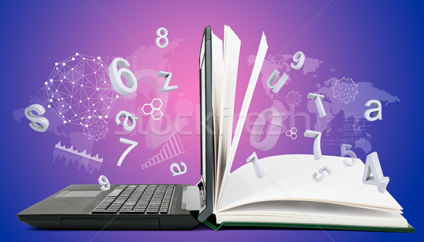 IT Communication, e-learning  Stock photo © cherezoff