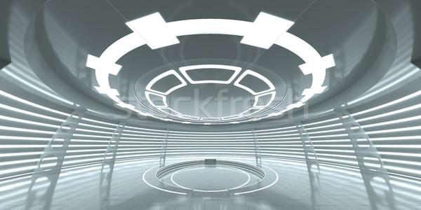 Сток-фото: аннотация · пусто · футуристический · пространстве · станция