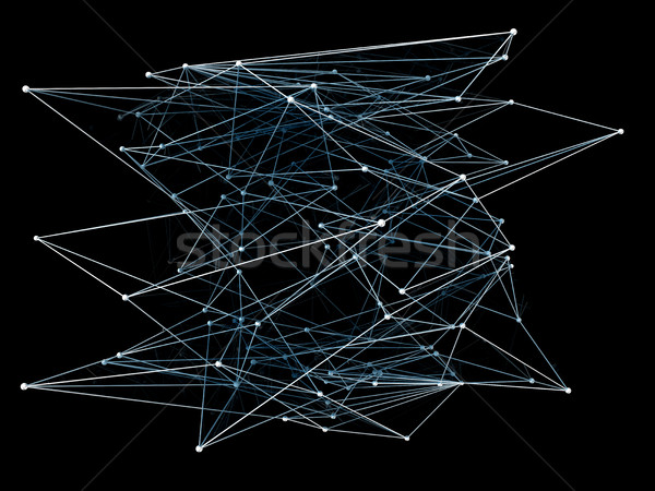 Abstract network connection background Stock photo © cherezoff