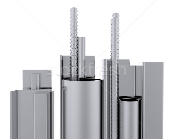 Stock photo: Steel Products. Close-up