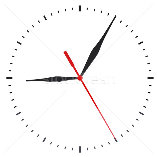 The clock and timestamp without numbers Stock photo © cherezoff