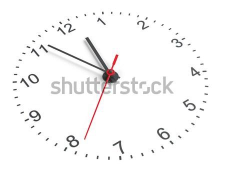 Clock face. Vector Stock photo © cherezoff