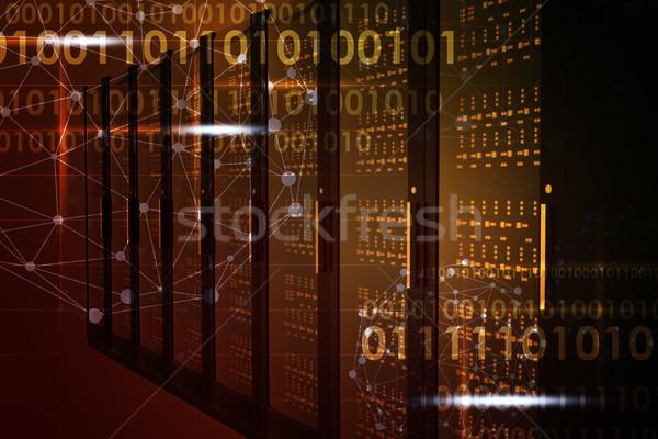 Abstract yellow background Stock photo © cherezoff