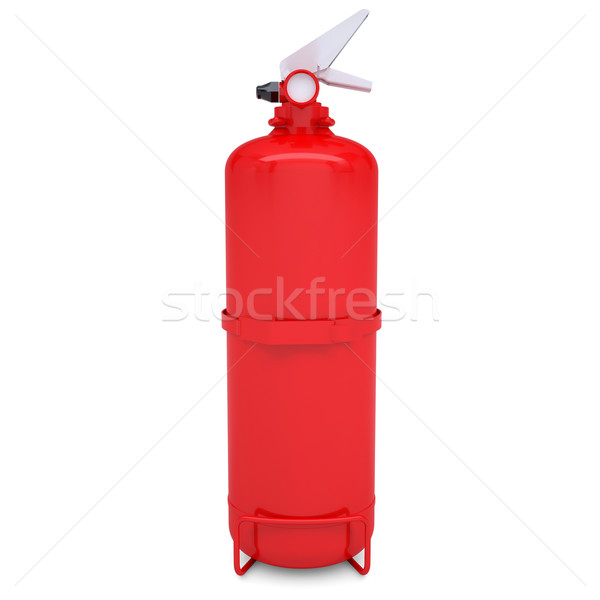 Red fire extinguisher Stock photo © cherezoff