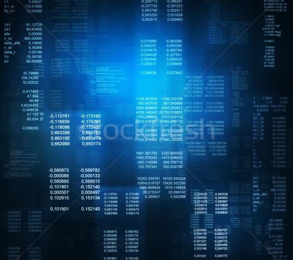 Logiciels promoteur programmation code résumé ordinateur Photo stock © cherezoff
