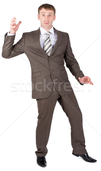 Businessman looking suprised Stock photo © cherezoff