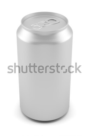 Aluminum can isolated on white background Stock photo © cherezoff
