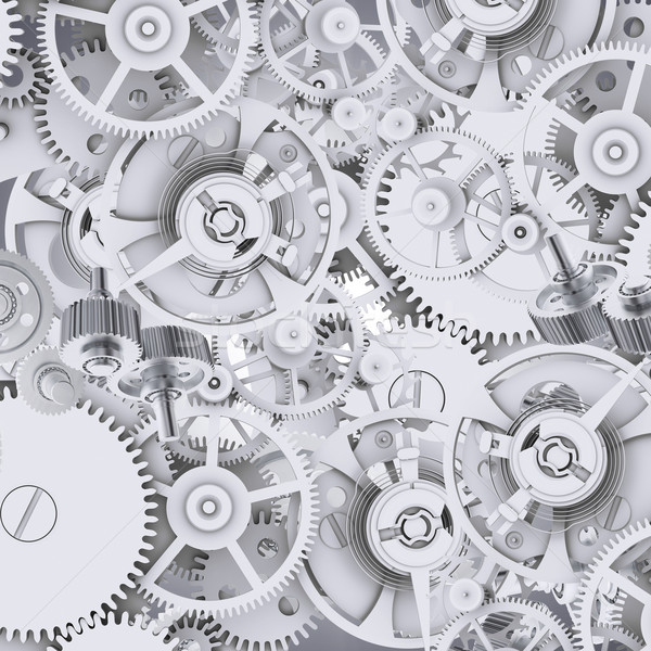 Texture of gears and cogwheels Stock photo © cherezoff