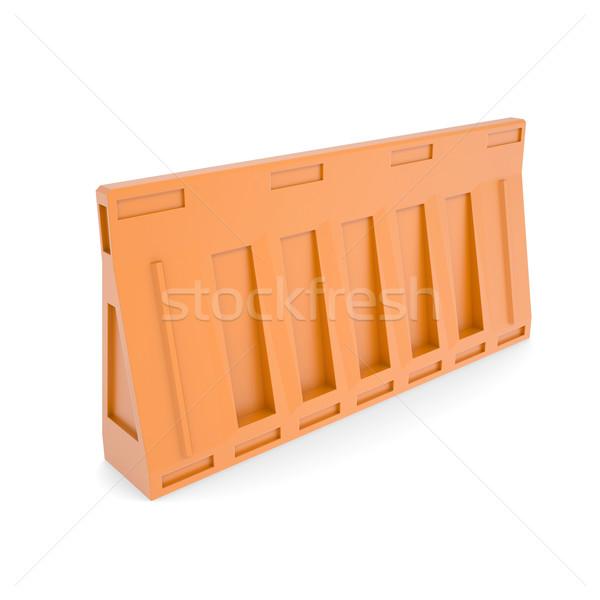 Portable traffic barriers Stock photo © cherezoff