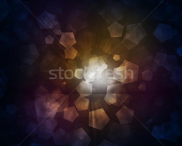 свечение темно аннотация текстуры Сток-фото © cherezoff