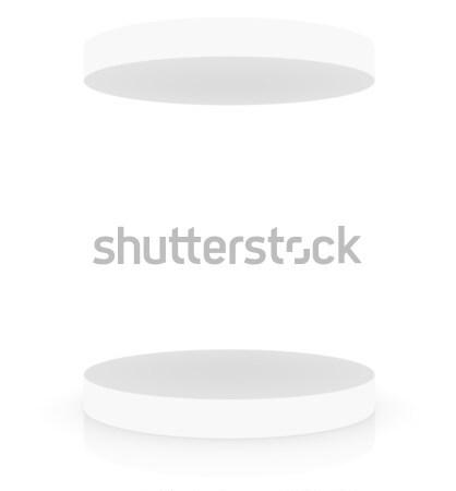 пусто белый подиум охватывать место презентация Сток-фото © cherezoff
