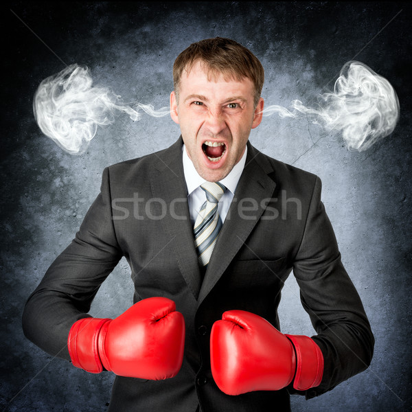 Negative human emotions Stock photo © cherezoff