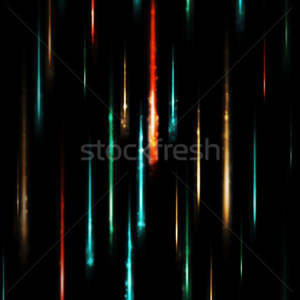 Abstract nero colorato luminoso rosso Foto d'archivio © cherezoff