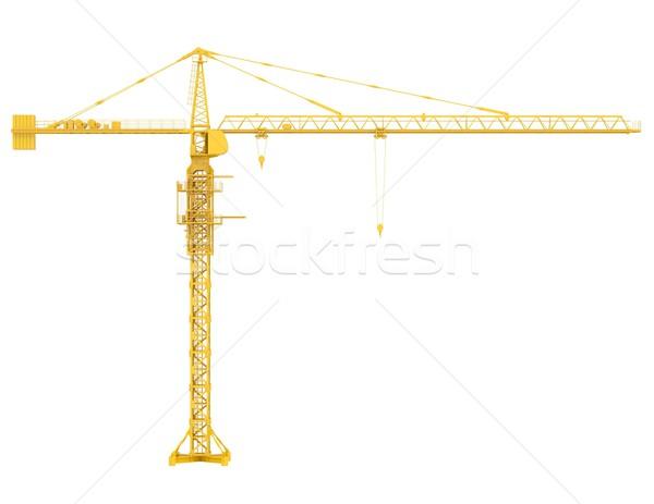 Tower crane Stock photo © cherezoff