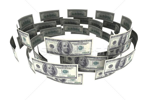 Dollars in circulation of money Stock photo © cherezoff