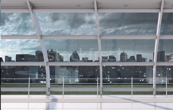 Cityscape outside window Stock photo © cherezoff