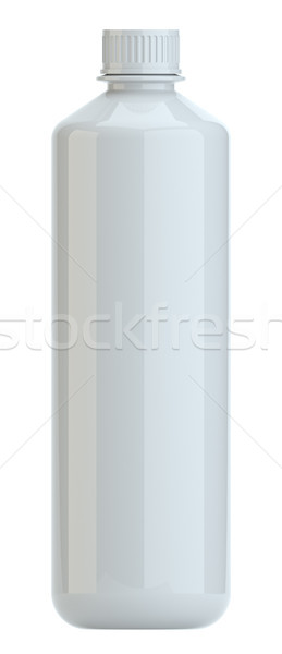 Realistic white plastic bottle. Product Packing Stock photo © cherezoff