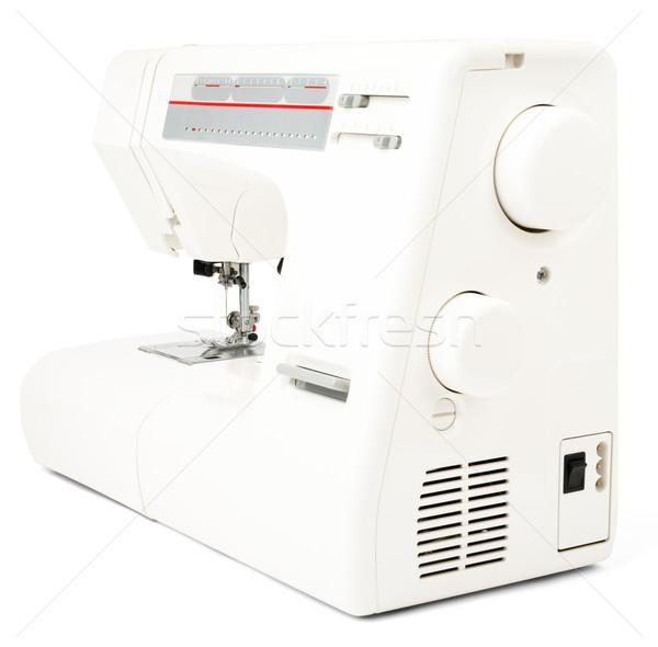 Sewing-machine on white Stock photo © cherezoff