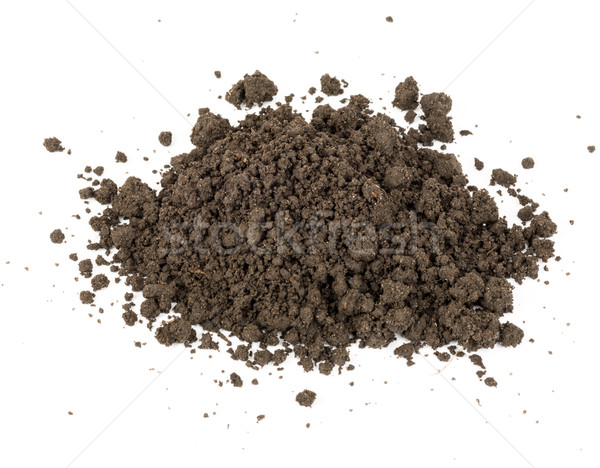 Heap of ground, close up view Stock photo © cherezoff