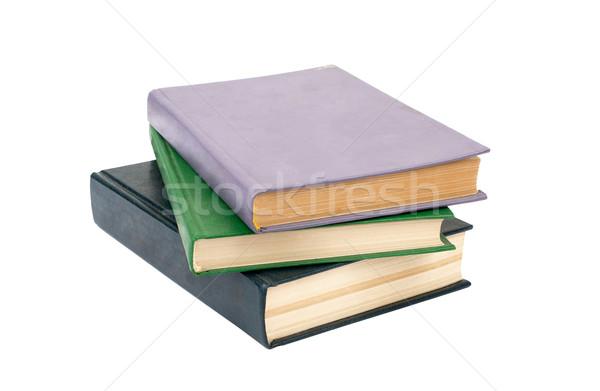 Livros isolado branco papel Foto stock © cherezoff