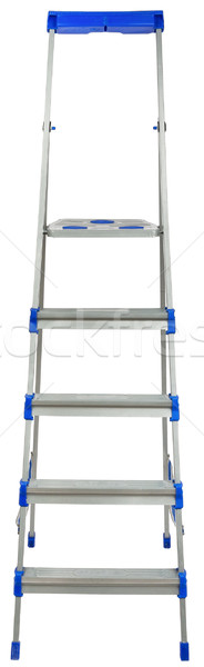 Stepladder front view Stock photo © cherezoff