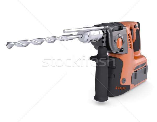 Rotary hammer Stock photo © cherezoff