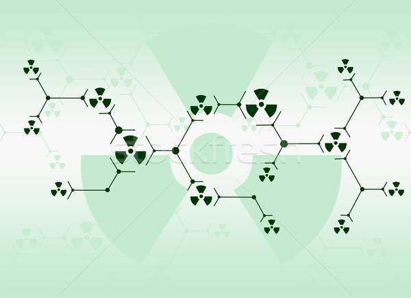 Preto linhas radiação sinais abstrato Foto stock © cherezoff