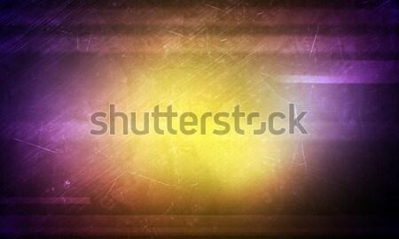 Abstract yellow and purple background Stock photo © cherezoff