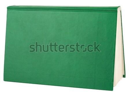 Book isolated on white background Stock photo © cherezoff