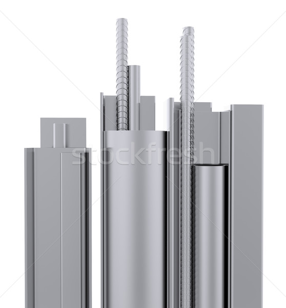 Rolled metal products Stock photo © cherezoff