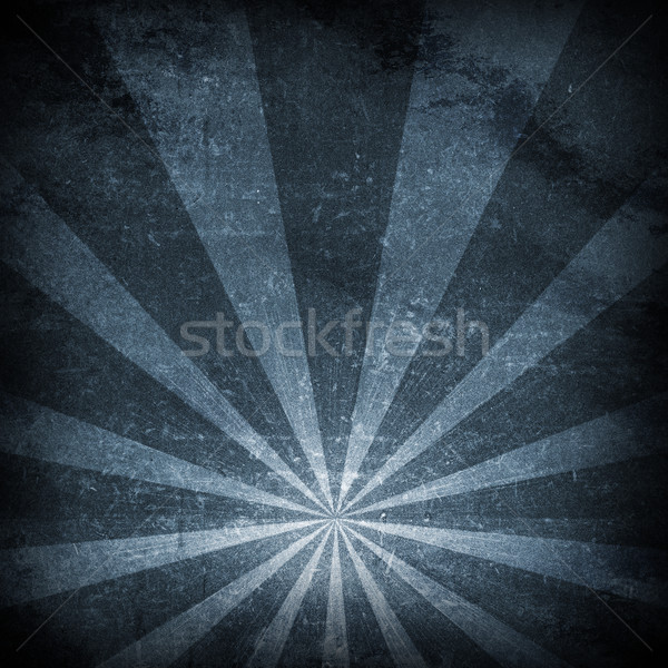 Abstract dark background is concrete surface and stripes at bottom Stock photo © cherezoff
