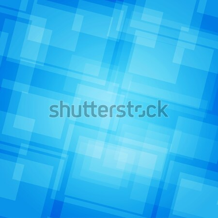 Soyut fütüristik mavi kurumsal web tasarım Stok fotoğraf © cherezoff