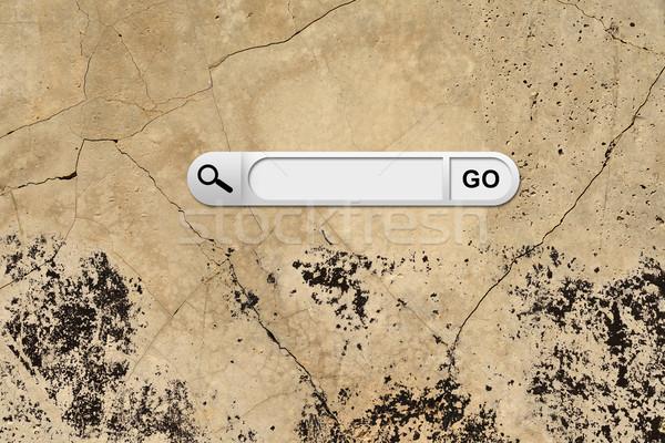Pesquisar bar navegador marrom negócio Foto stock © cherezoff